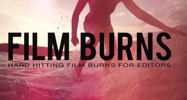 Rampant Design Studio – Film Burns