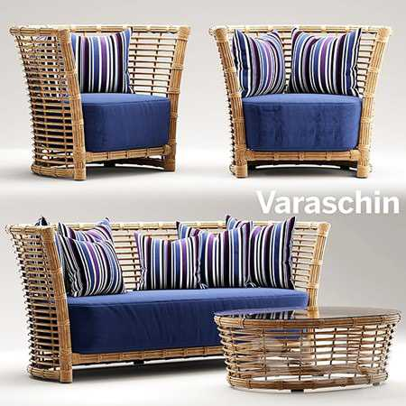 Garden furniture varaschin tonkino