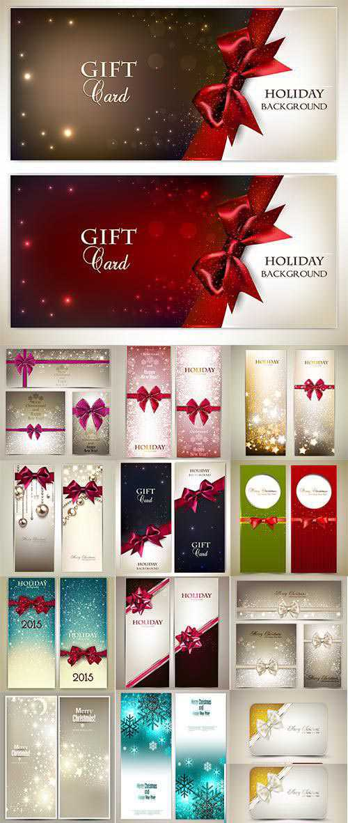 Christmas Cards And Banners – 30 Vector