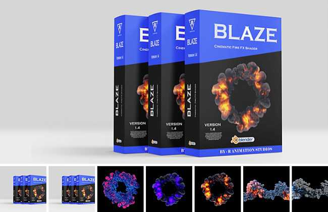 Blender Market – Blaze Version 1.4