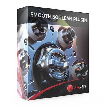 SmoothBoolean v1.06 for 3ds Max 2013 – 2020