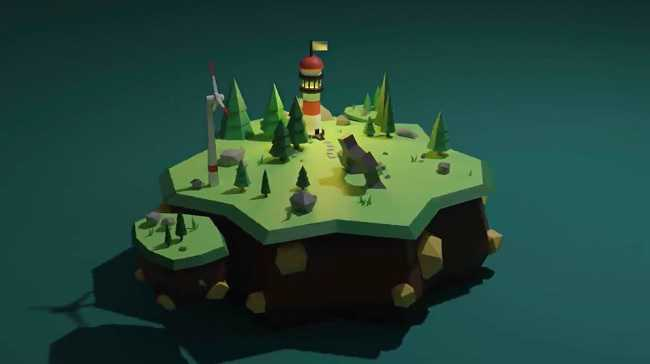 Skillshare – Create A Sky Island In Blender 2.8