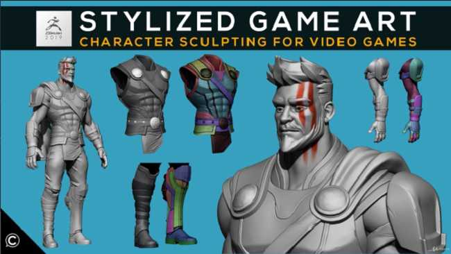 Udemy – Stylized Game Art Character Sculpting for Video Games by Class Creatives