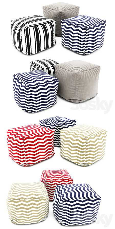 Pouf collection 07