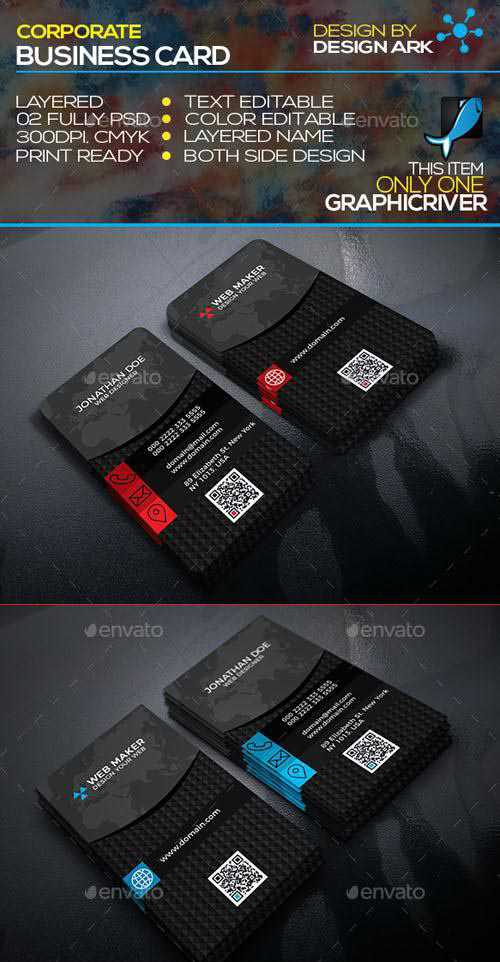 Graphicriver – Creative Business Card 20137916s