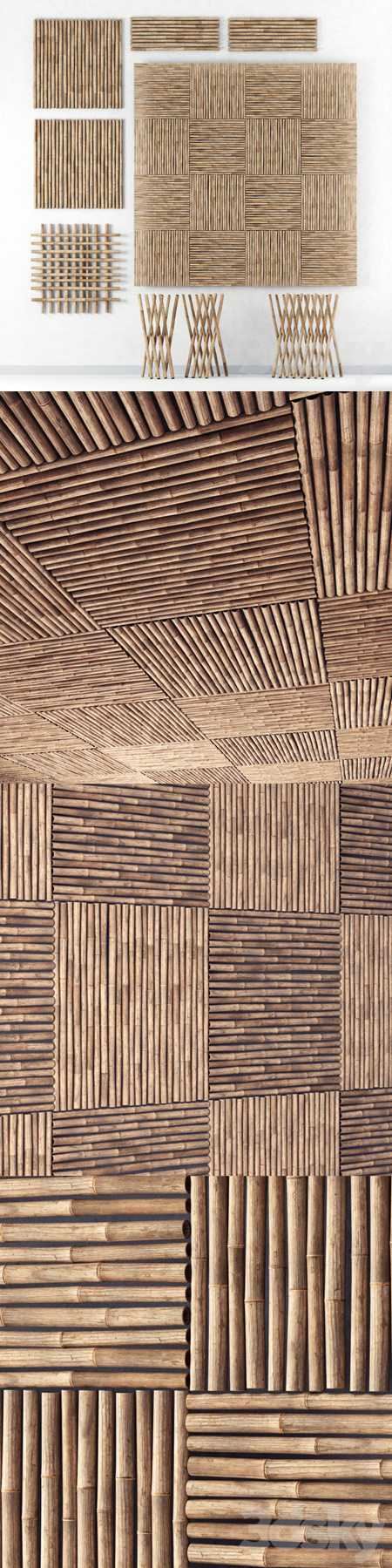 Decor of bamboo