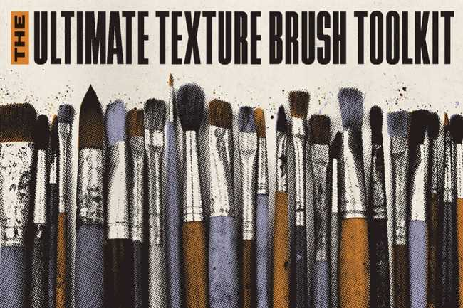 True Grit Texture – The Ultimate Texture Brush Toolkit
