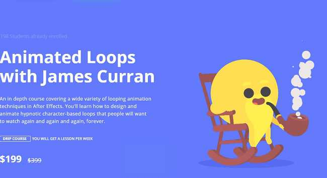 Motion Design School – Animated Loops with James Curran