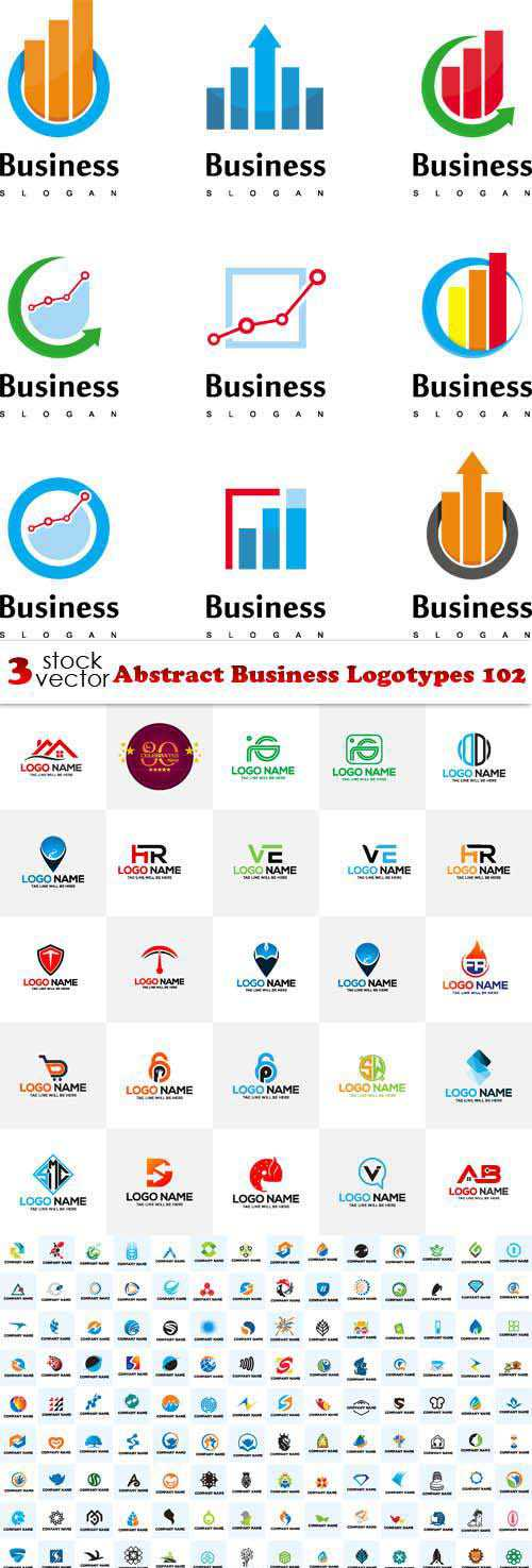 Abstract Business Logotypes 102