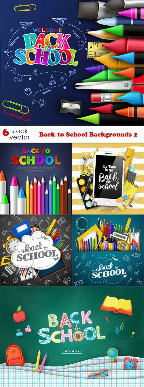 Back to School Backgrounds 2