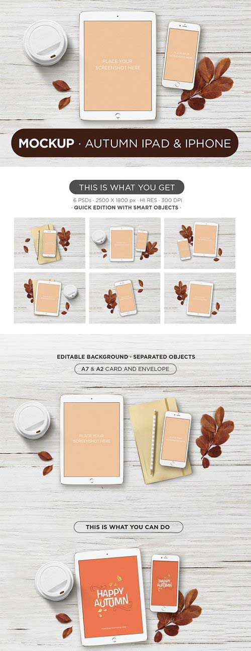 Mockup Autumn ipad & iphone – CM 365171