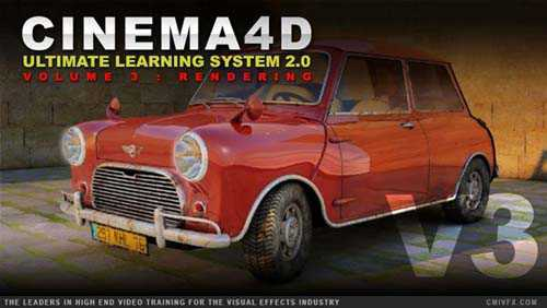 Tutorials cmiVFX – Cinema 4D Ultimate Learning System 2.0 Volume 3