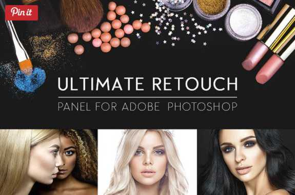 Ultimate Retouch Panel v3.7.73 for Adobe Photoshop CC Win