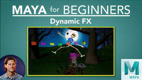 Skillshare – Maya for Beginners: Dynamic FX