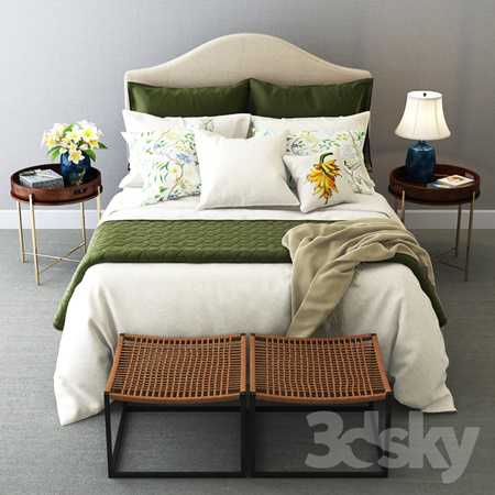 Colonial Style Bedroom Set