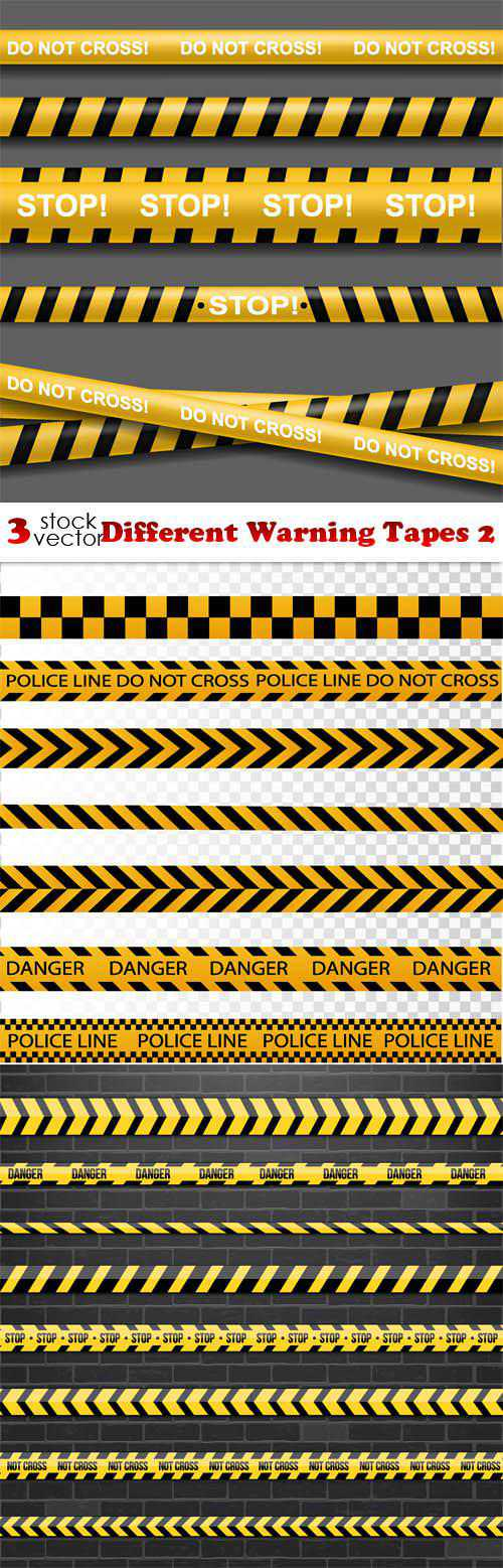 Different Warning Tapes 2