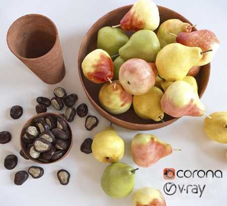 Pears and chestnuts