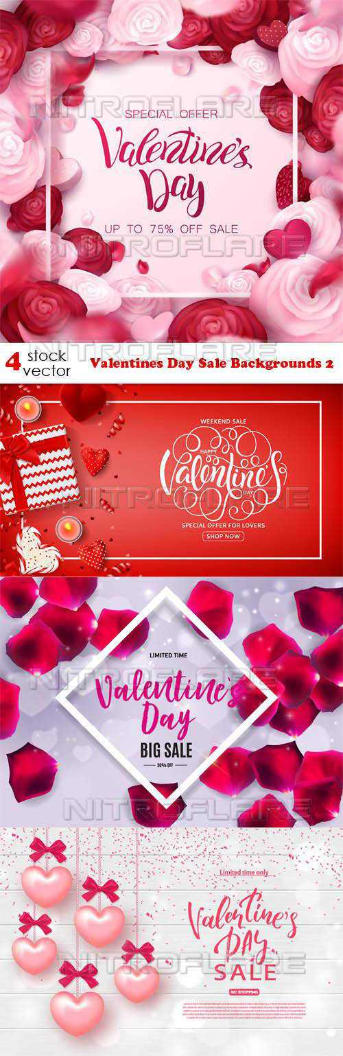 Valentines Day Sale Backgrounds 2