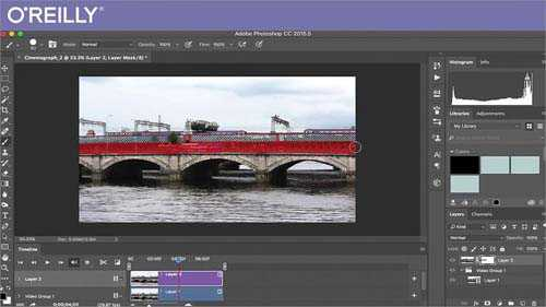 O'Reilly – Creating Cinemagraphs in Adobe Photoshop