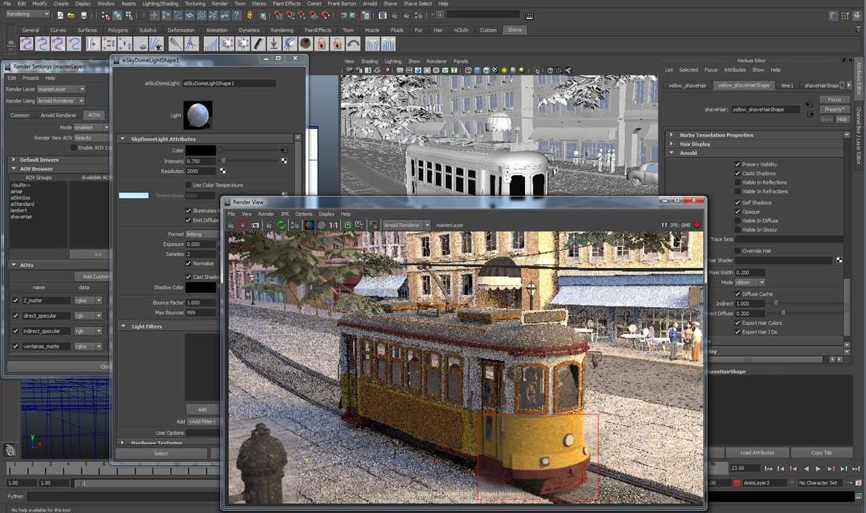 Solid Angle Maya To Arnold 4.0.2 for Maya 2018 – 2020 Win/Mac/Lnx