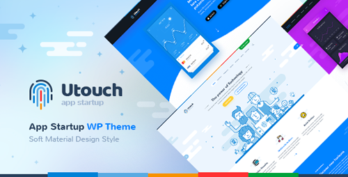 ThemeForest - Utouch v1.4 - Startup Business and Digital Technology WordPress Theme - 20654547