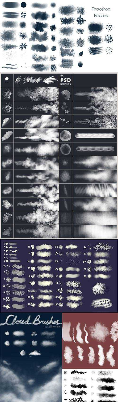 100+ Photoshop Brushes Collection