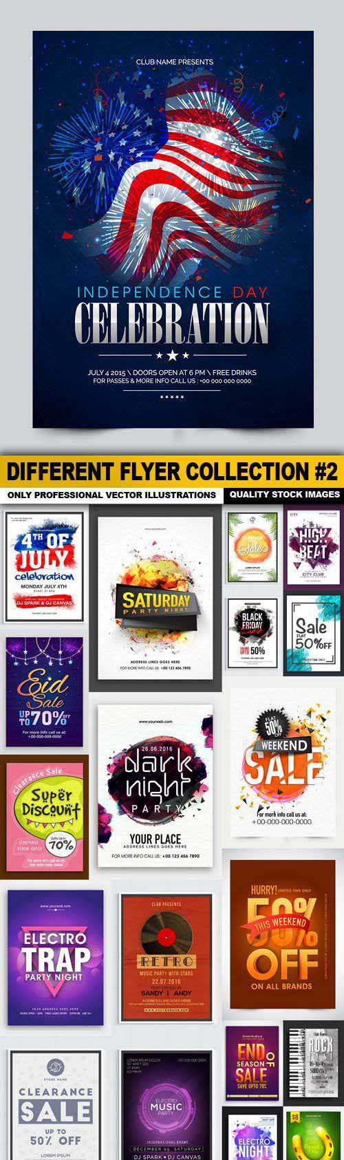 Different Flyer Collection #2