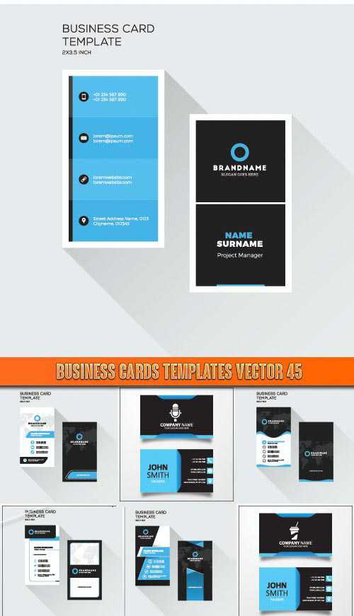 Business Cards Templates vector 45