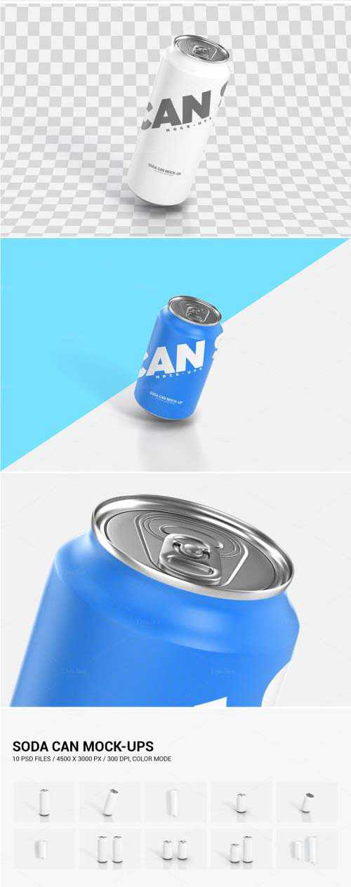 Soda Can Mock-Up – 699755