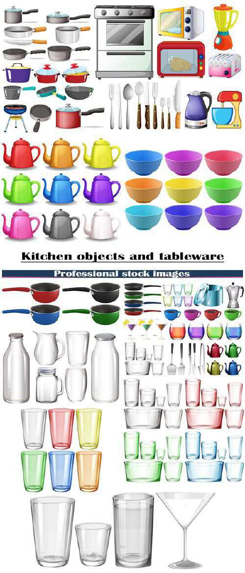 Kitchen items and tableware 5