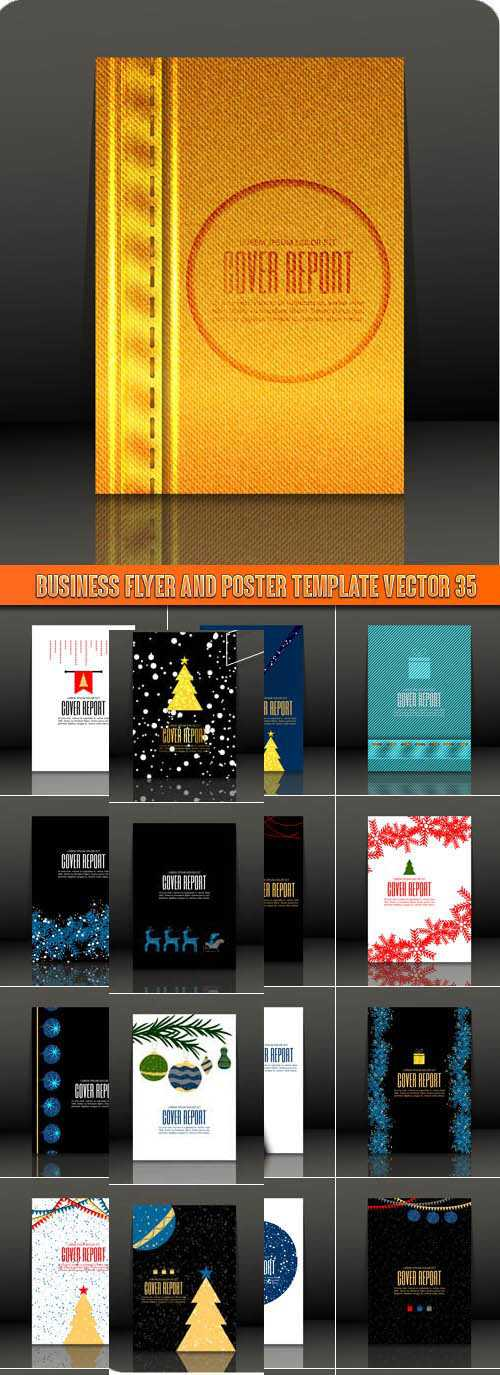 Business Flyer and Poster Template Vector 35