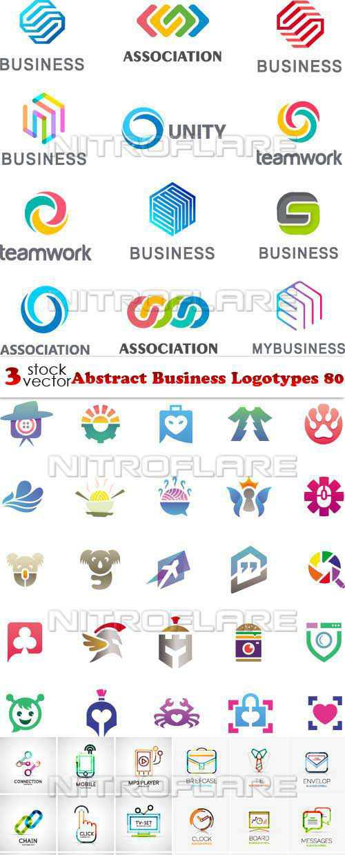 Abstract Business Logotypes 80