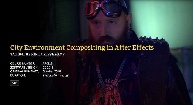 FXPHD – AFX228 – City Environment Compositing In After Effects Part 1