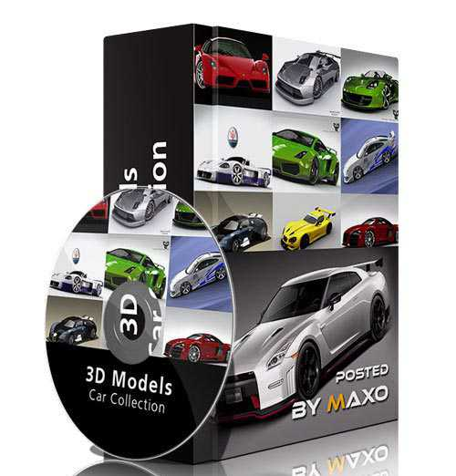3D Models – Car Collection