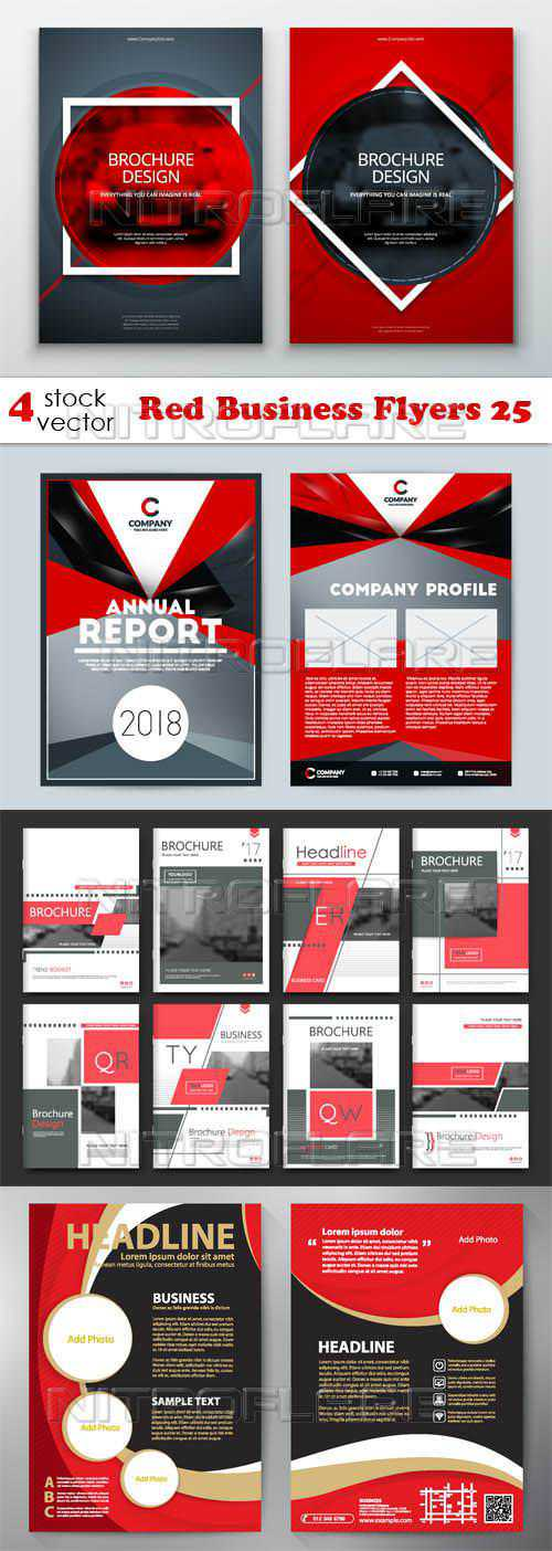Red Business Flyers 25