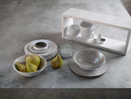 3dMax Ceramic and pears