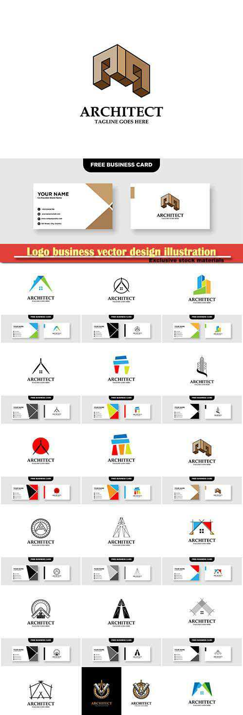 Logo business vector design illustration # 62