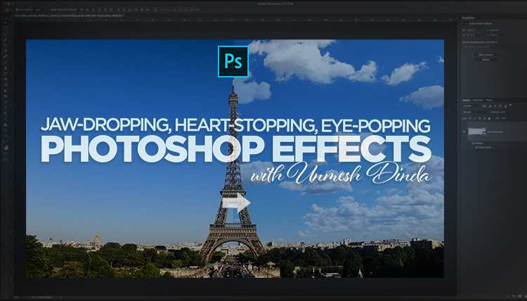 KelbyOne – Jaw-Dropping, Heart-Stopping, Eye-Popping Photoshop Effects