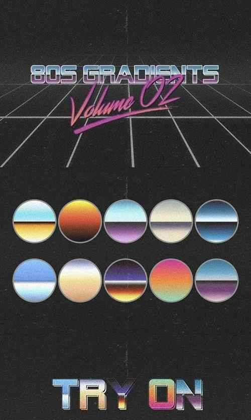 80s Gradients Vol02 2661519