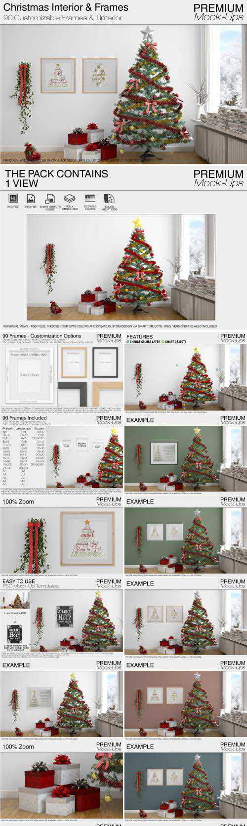CM – Christmas Interior & Frames Pack – 2047388