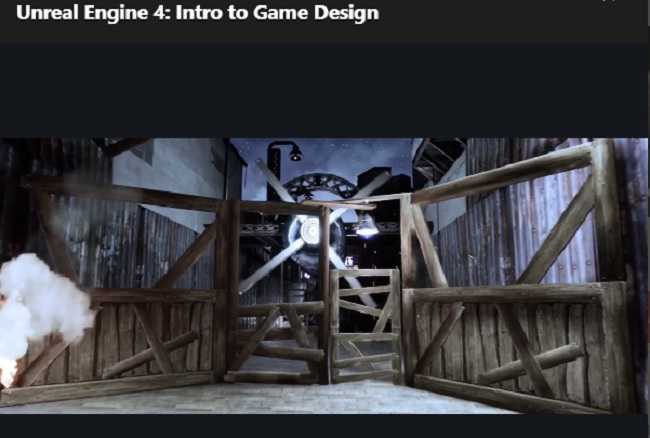 Udemy – Unreal Engine 4 – Intro to Game Design
