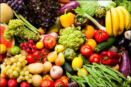 Good Collections of Fruits and Vegetables