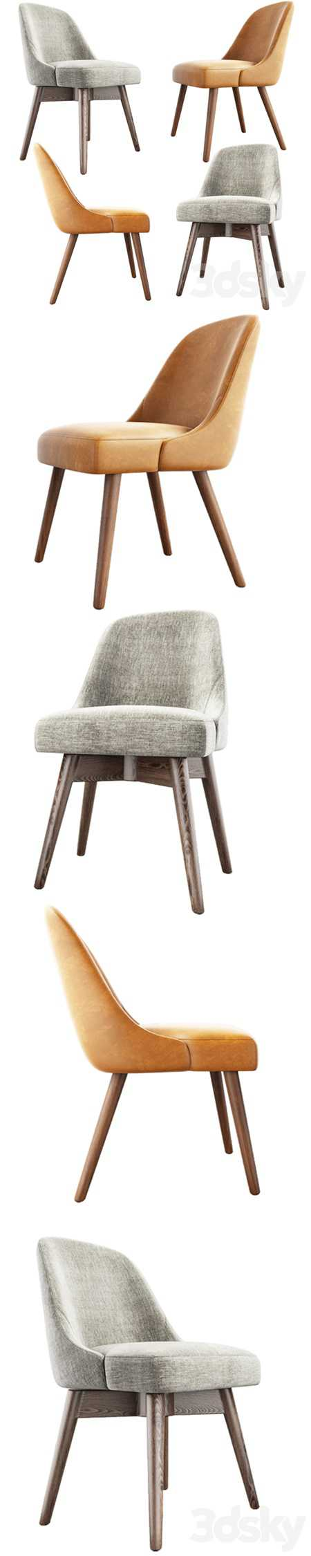 West Elm Mid-Century Dining Chair Set
