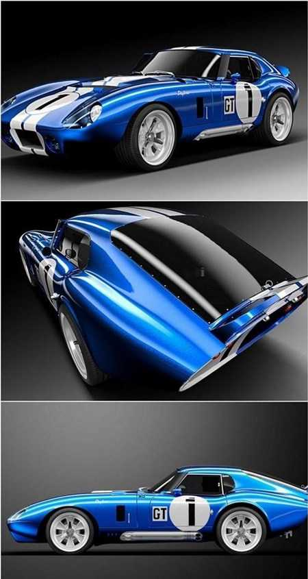 Shelby 1965 Cobra Daytona Coupe 3D Model