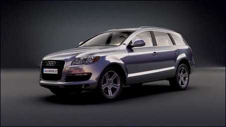 Audi Pre-rigged Model with Craft Director Studio
