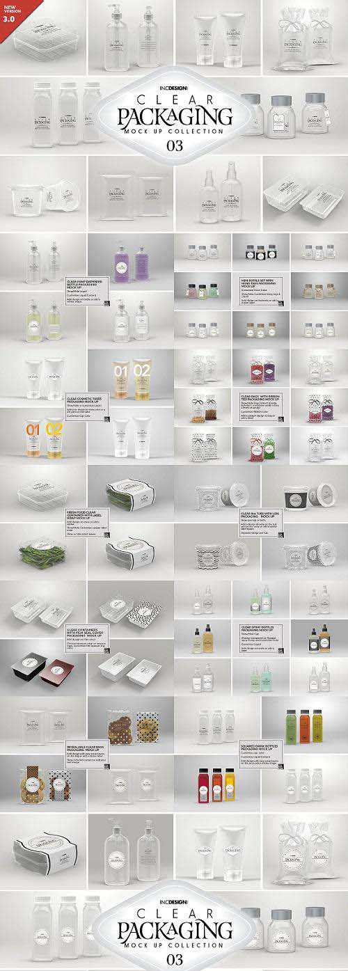 03 Clear Container Packaging MockUps – 2008712