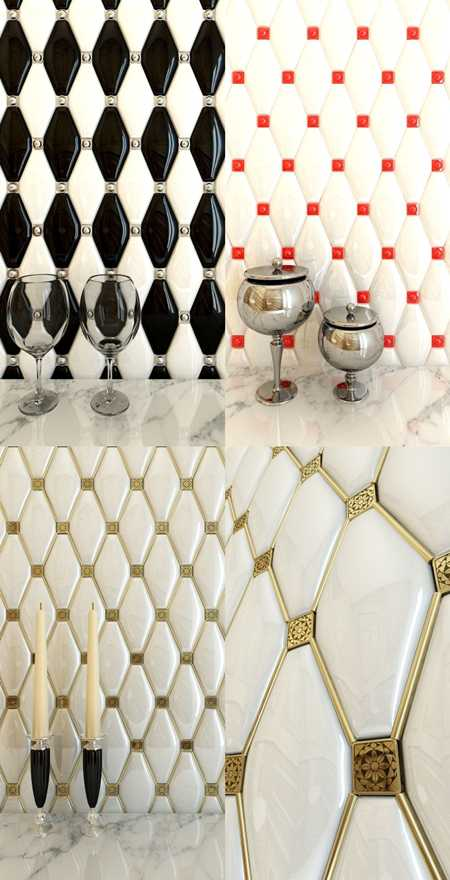 Max Adex tile series Rombos (9 species)