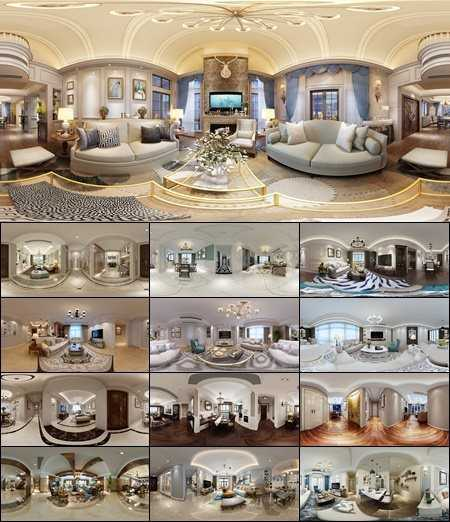360 INTERIOR DESIGNS 2017 LIVING & DINING, KITCHEN ROOM AMERICAN STYLES COLLECTION 4