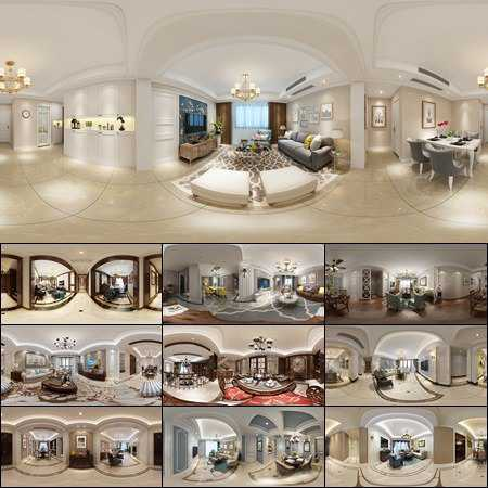 360 INTERIOR DESIGNS 2017 LIVING & DINING, KITCHEN ROOM AMERICAN STYLES COLLECTION 1