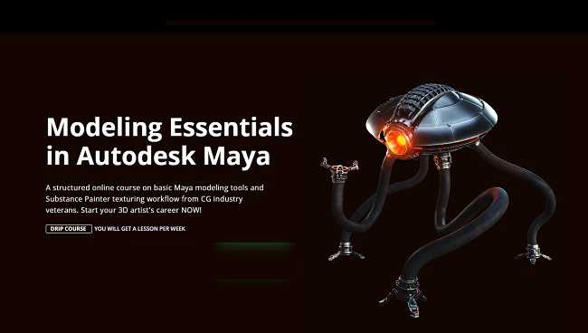 Motion Design School – Maya Modeling Essentials